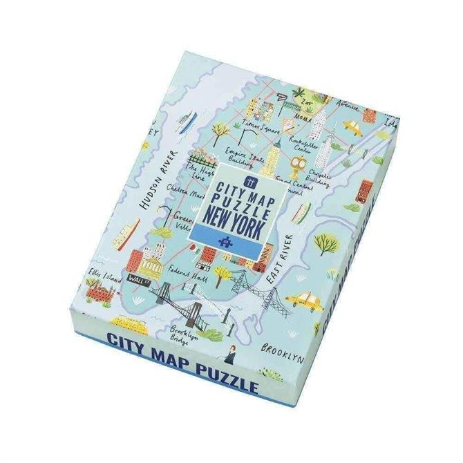 Talking Tables New York Map Puzzle 250 Pieces