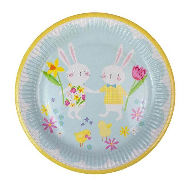 Hop To It Easter Party Plates