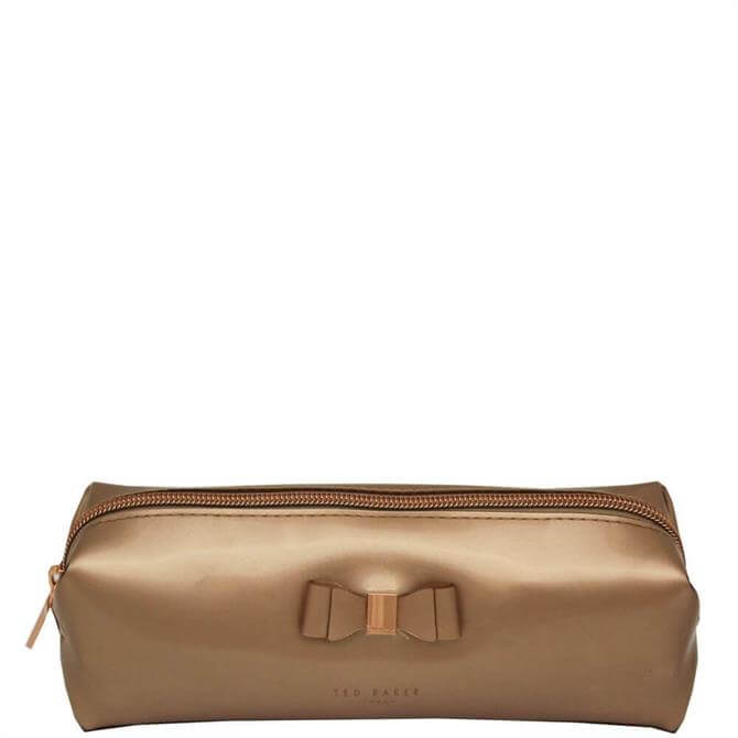 Ted Baker Rose Gold Blasia Soft Cube Pencil Case