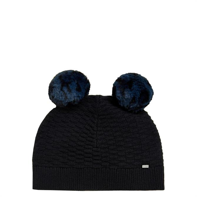 Ted Baker Leysaai Double Pom Stitch Hat