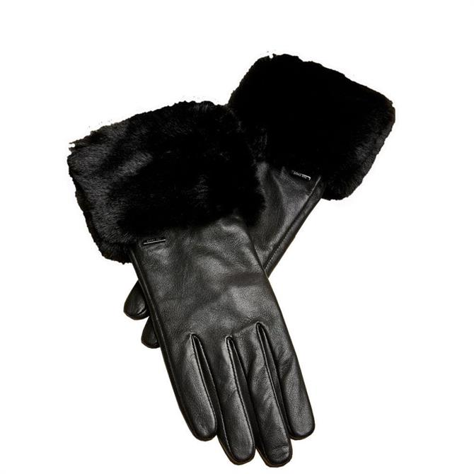 Ted Baker Fleuri Fur Trimmed Gloves