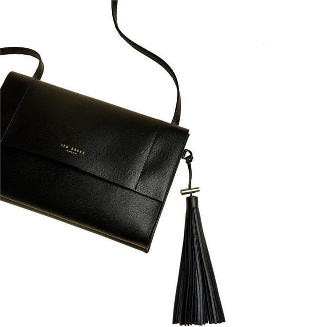 Ted Baker Natalei Leather Tassel Detail Cross Body Bag