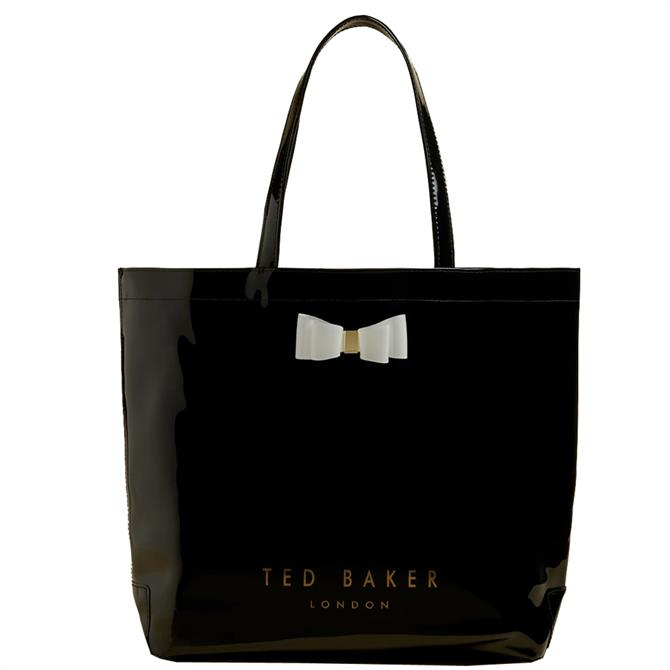 Ted Baker Hanacon Bow Black Large Icon Bag