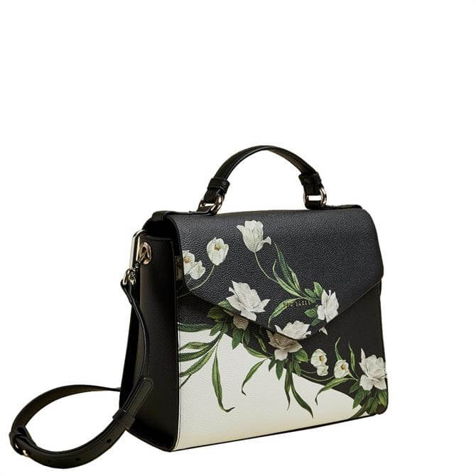 Ted Baker Bailes Black Elderflower Lady Bag