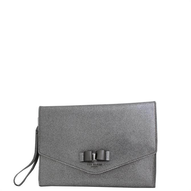 Ted Baker Genni Bow Detail Glitter Pouch