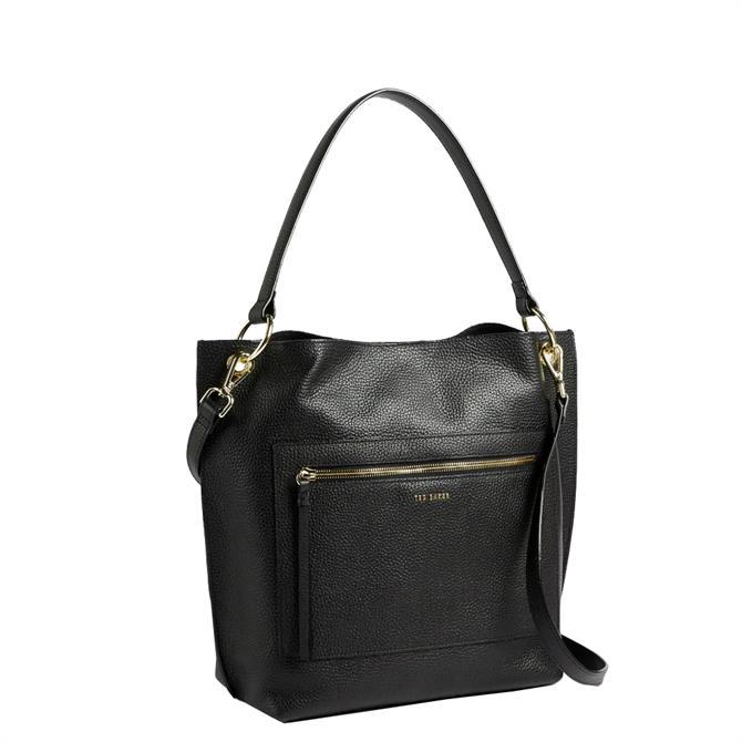 Ted Baker Cafrin Zip Detail Hobo Bag