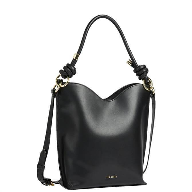 Ted Baker Daaisy Black Knotted Shopper Bag