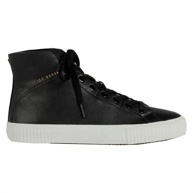 Ted Baker Kimyil Leather Colour Drench High Top Vulc Trainer