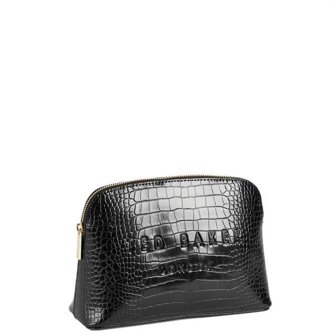 Ted Baker Crocala Croc Detail Embossed Make Up Bag