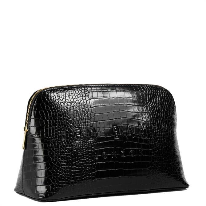 Ted Baker Crocana Croc Detail Embossed Washbag