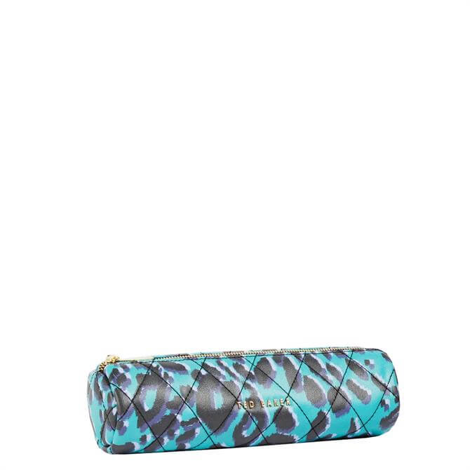 Ted Baker Quilto Quilted Leopard Brush Case