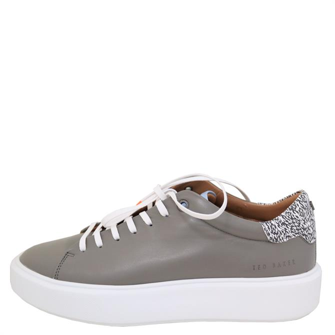 Ted Baker Pixen Persimmon Spot Leather Trainer