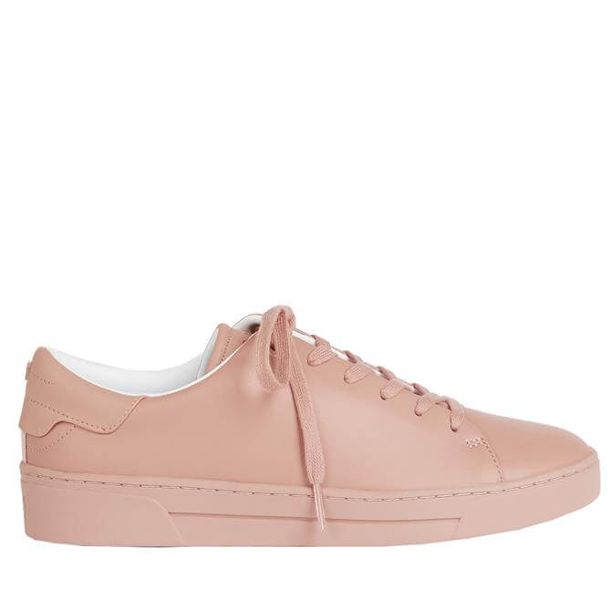 Ted Baker Aryah Pink Leather Trainer