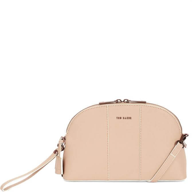 Ted Baker Barbrie Leather Cross Hatch Dome Bag