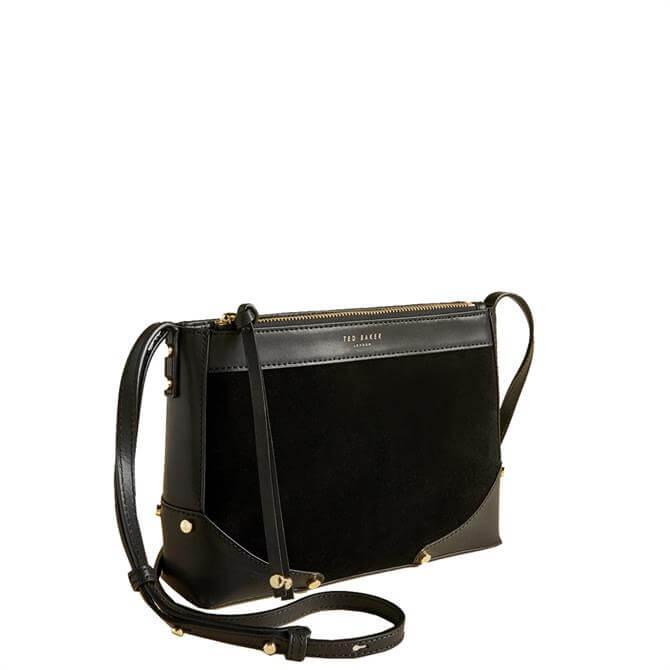 Ted Baker Audreiy Folded Corner Detail Leather Cross Body Bag