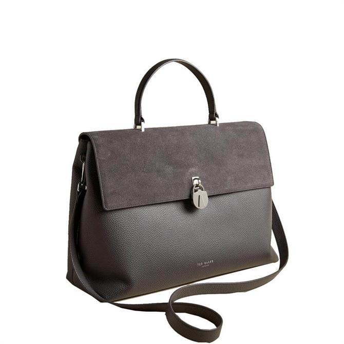 Ted Baker Madyy Padlock Leather Tote Bag