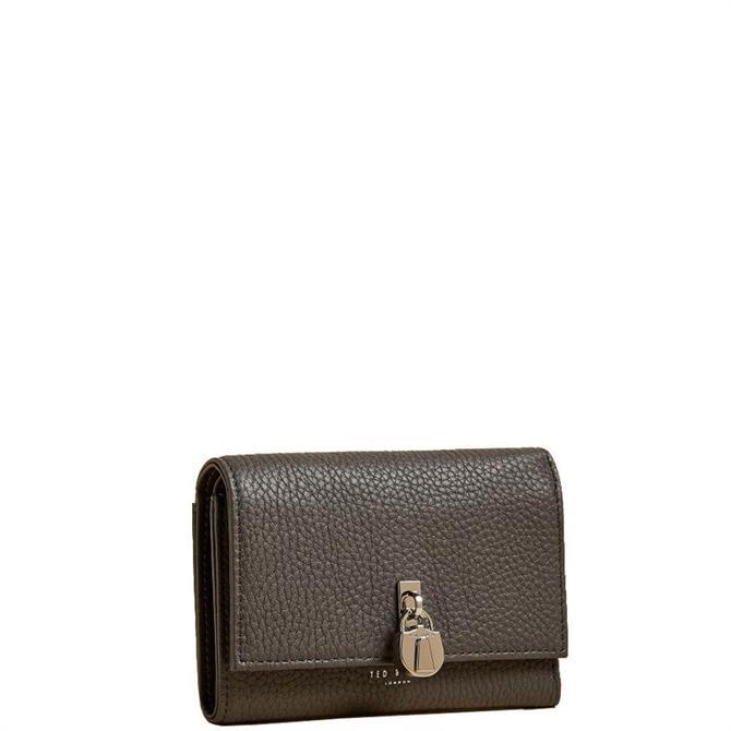 Ted Baker Soricha Leather Mini Padlock Detail Purse