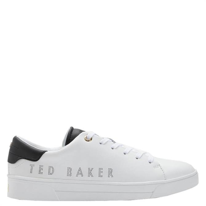 Ted Baker Kerrie Leather Branded Trainers