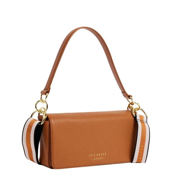Ted Baker Ammie Branded Webbing Strap Box Shoulder Bag