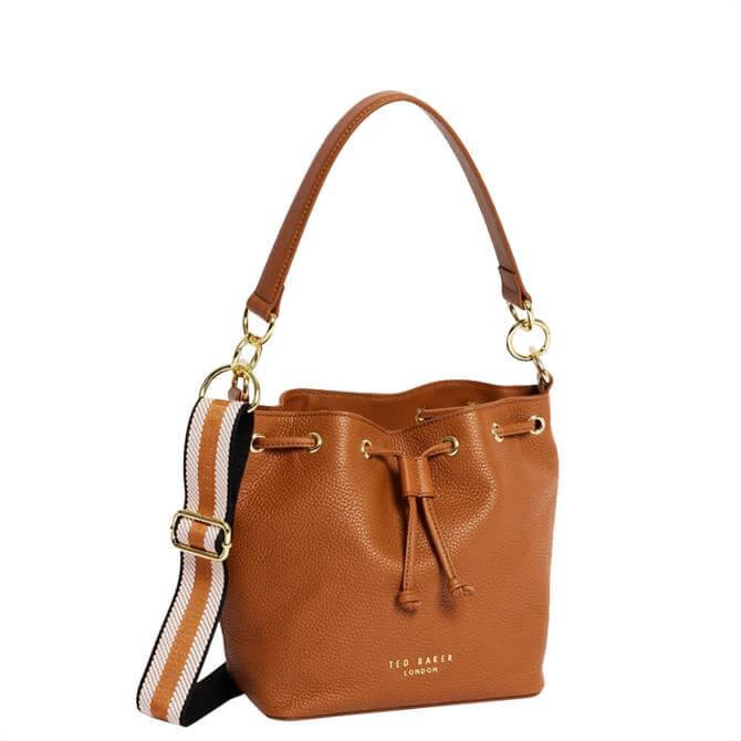 Ted Baker Aminah Branded Webbing Strap Bucket Bag