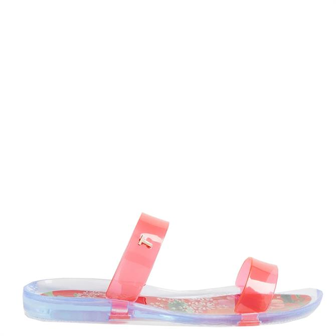 Ted Baker Alenuh Metropolis Two Strap Jelly Slider