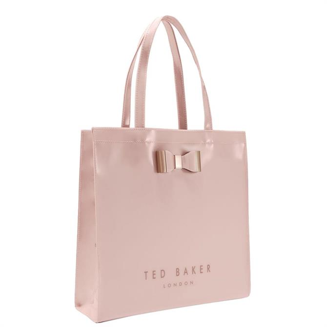 Ted Baker Softcon Soft Pink Large Icon Bag