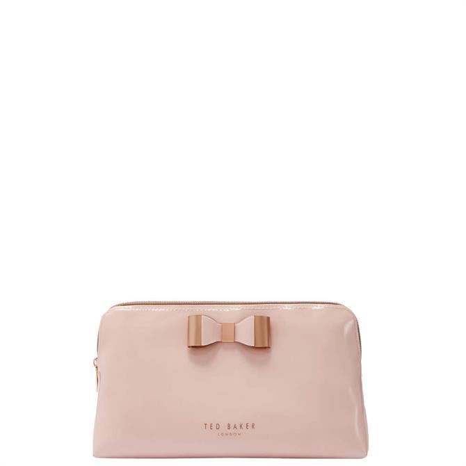 Ted Baker Vivekah Pink Bow Make Up Bag
