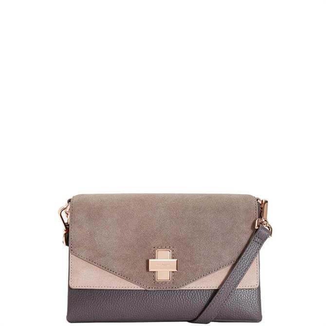 Ted Baker Vierra Twist Clasp Cross Body Bag