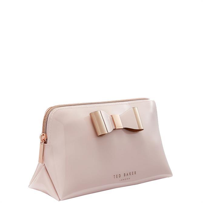 Ted Baker Vanitee Pink Bow Detail Wash Bag