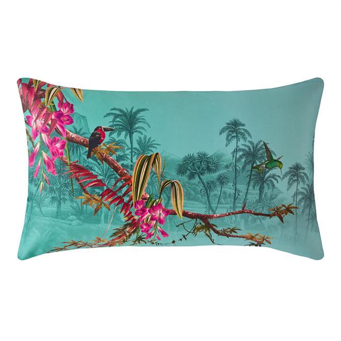 Ted Baker Hibiscus Jade Pair of Standard Pillowcases