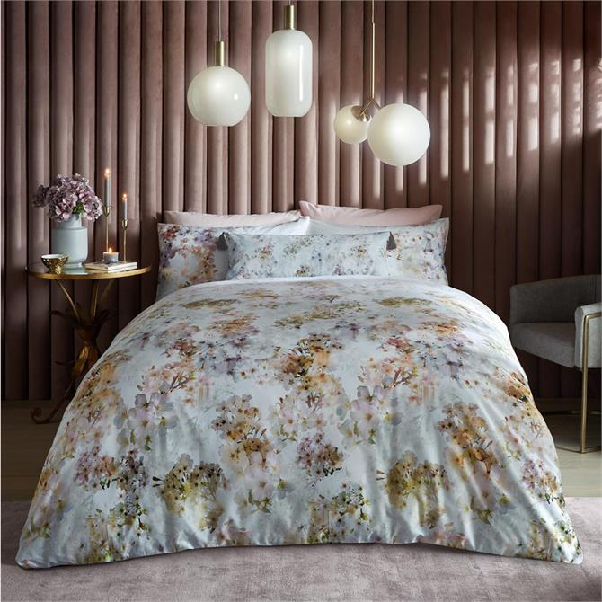Ted Baker Vanilla Pastel Floral Duvet Cover