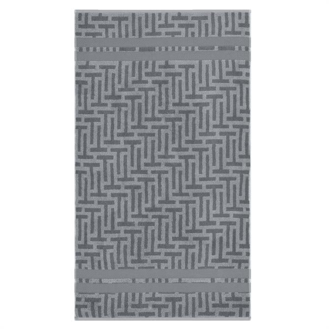 Ted Baker Tessellating T Grey Towel