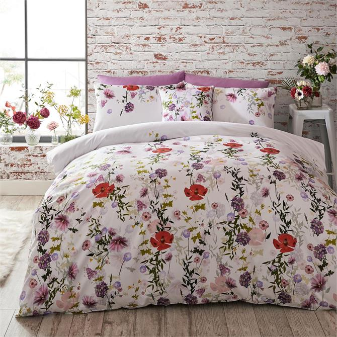 Ted Baker Hedgerow Floral Cotton Duvet Cover