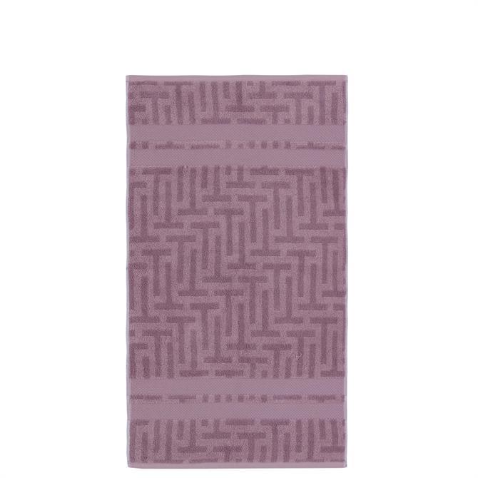 Ted Baker Tessellating T Dusky Pink Towel