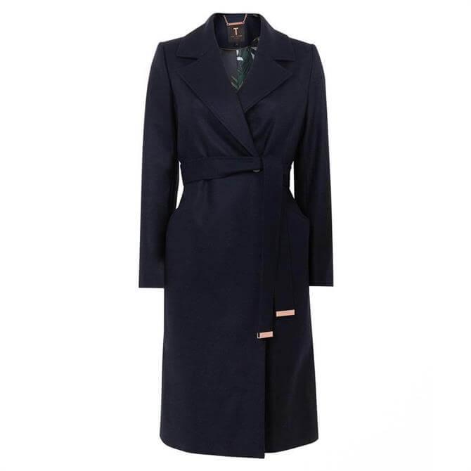 Ted Baker STEXA Long Collared Wool Coat
