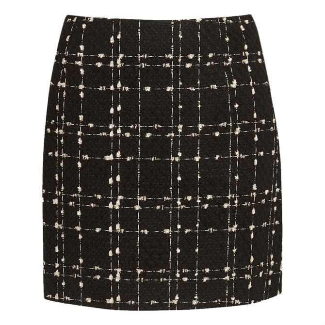 Ted Baker CHELE Metallic Boucle Mini Skirt