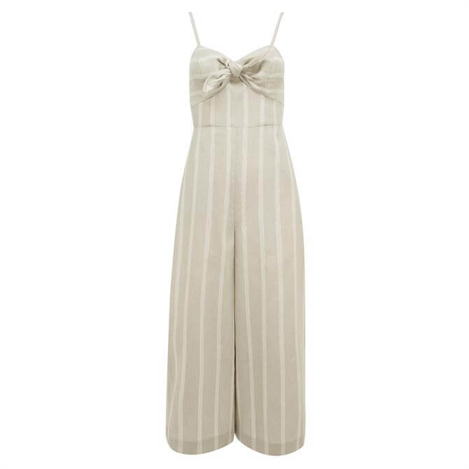 Ted Baker DACEYY Linen Striped Jumpsuit