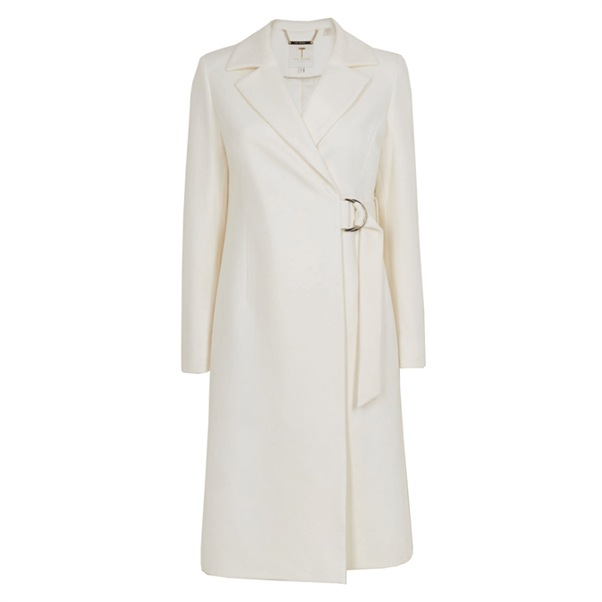 Ted Baker DEZPINA Long Belted Wrap Overcoat