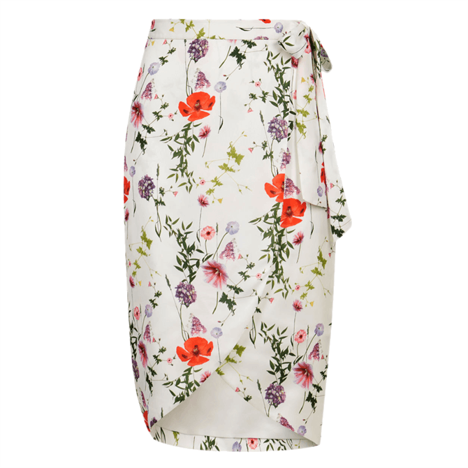 Ted Baker CAMIILA Hedgerow Wrap Midi Skirt