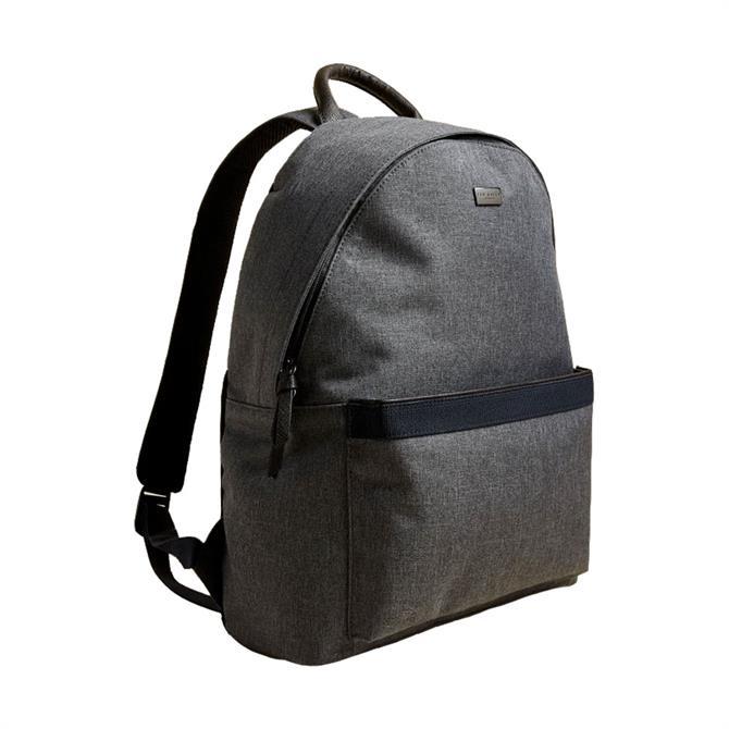 Ted Baker Setgo Textured Grey Backpack