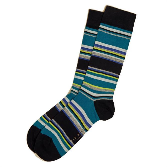 Ted Baker Mooves Striped Socks