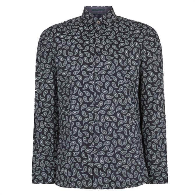 Ted Baker Lapins Paisley Print Shirt