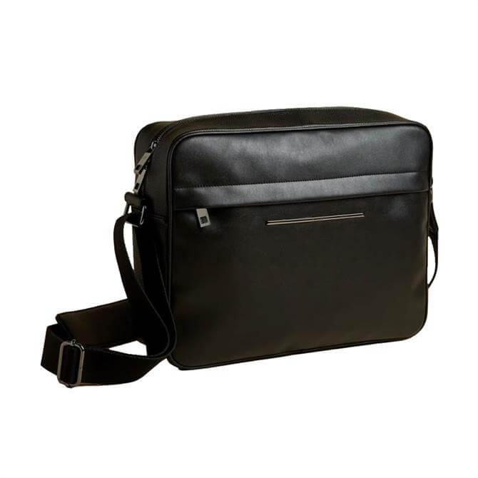 Ted Baker Keyz Black PU Satchel Bag
