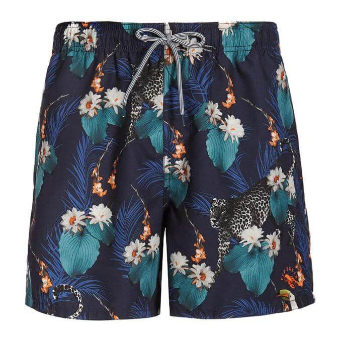 Ted Baker Idrisy Tropical Printed Swim Shorts