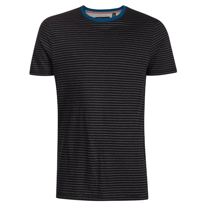 Ted Baker Dayout Striped Cotton T-Shirt