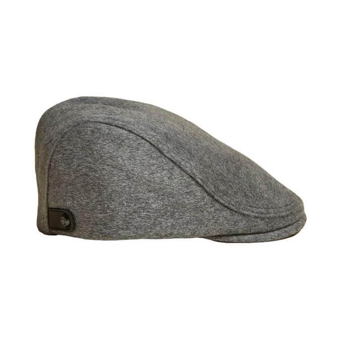 Ted Baker Ducasse Textured Wool Flat Cap