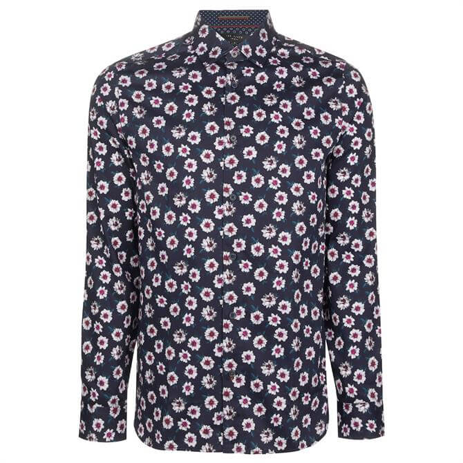 Ted Baker Wewill Floral Print Shirt