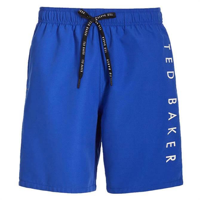 Ted Baker Gadget Branded Swim Shorts