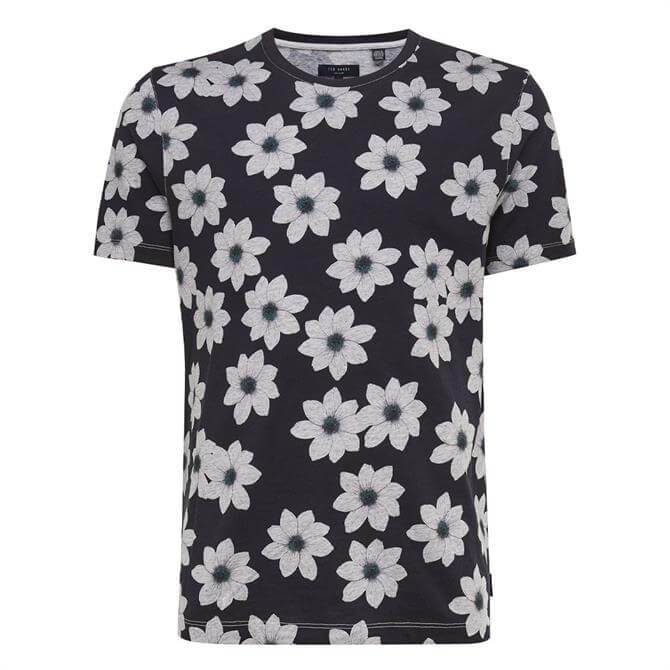 Ted Baker Nade Floral Printed T Shirt