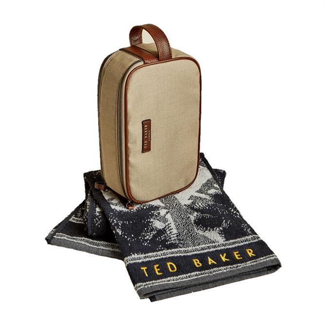 Ted Baker Hopset Washbag & Towel Gift Set